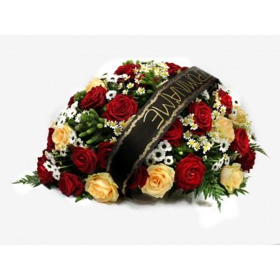 Aranžmá s růžemi +3 690 Kč
