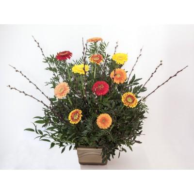 Květinové aranžmá na položení +1 400 Kč